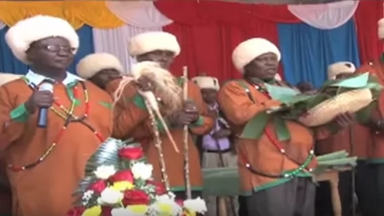 Nyeri Catholic nun weds a church in a colourful ceremony