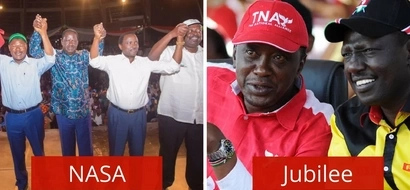 Photo of NASA leaders which has left Kenyans talking