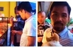 Simpleng tao pa rin! Manny Pacquiao caught on video buying bread from humble panaderia despite seeing a fly near the products!