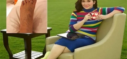 Kris Aquino's photo reveals something shocking about herself