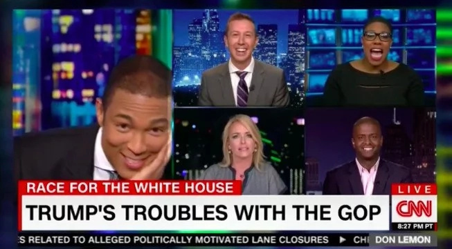 CNN Panel Laughs When Trump Backer Says No Evidence To Call Him Racis