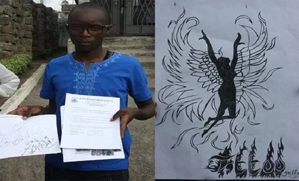 School forced to re-admit student who drew 'DEMONIC' art