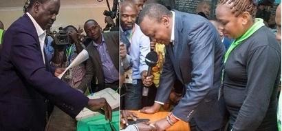 Uhuru alimshinda Raila na ushahidi tunao - Elog yasema