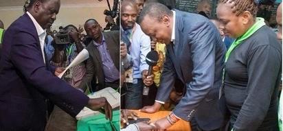 Raila akubali kumenyana na Uhuru katika marudio ya uchaguzi katika hali hii moja