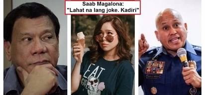 Saab Magalona expresses her disgust over alleged contradictory statements of President Duterte & PNP Chief Bato: 'Sobrang jirits'