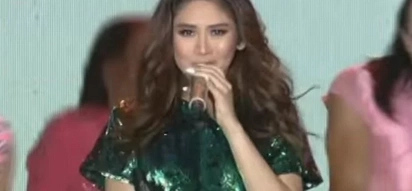 Is this the new 'Trumpets'? Sarah G returns onstage with a new dance craze!