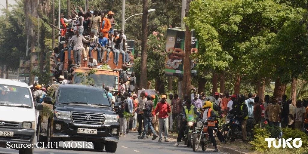 Picha zote unazofaa kuzitazama za maandamano ya kutimua IEBC