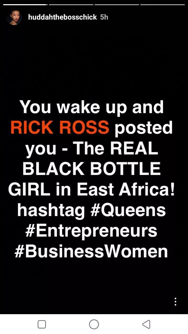 Socialite Huddah Monroe wins heart of top American hip hop star Rick Ross