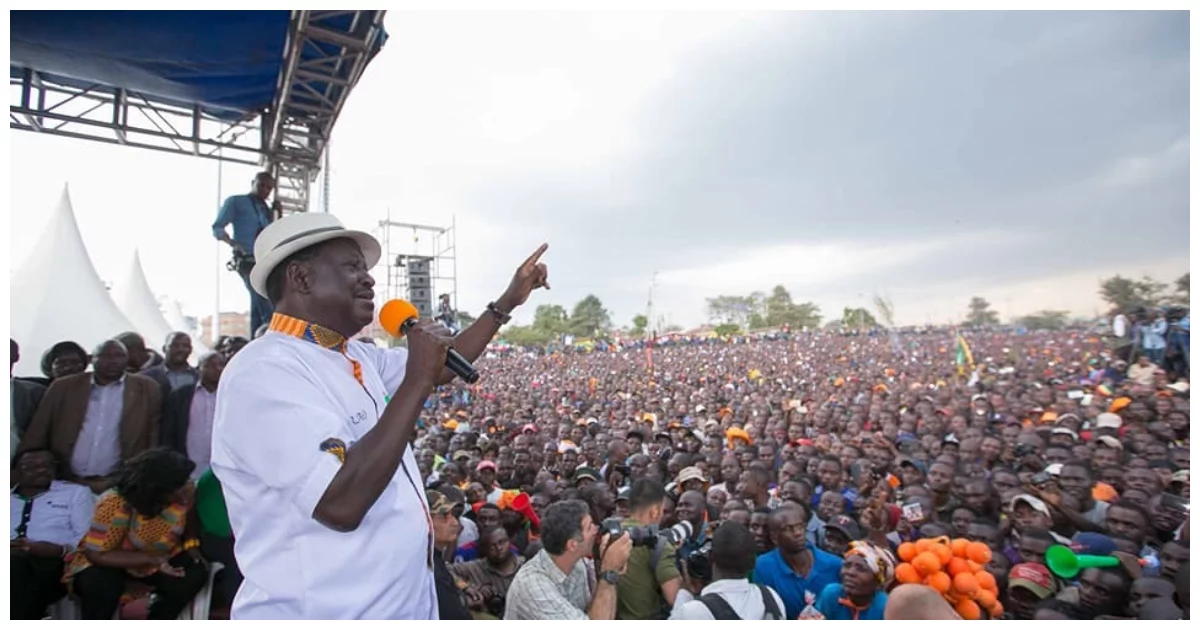 Raila anaendelea kuisakata ngoma ya demokrasia lakini asema 'Bado mapambano'