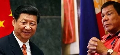 Duterte will not rely on US regarding territorial dispute with China