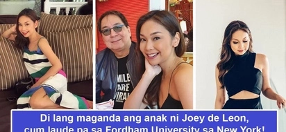 Maganda na, napakatalino pa! Joey de Leon's daughter may be internet's new peg for beauty and brains