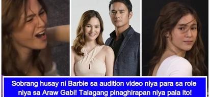 Ginalingan talaga! Audition video ni Barbie Imperial para sa role na Michelle sa 'Araw Gabi'