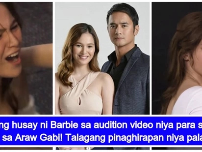 Ginalingan talaga! Audition video ni Barbie Imperial para sa role na Michelle sa 'Araw Gabi'