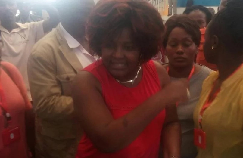 Drama! Rachel Shebesh STORMS into tallying centre to HALT polling results