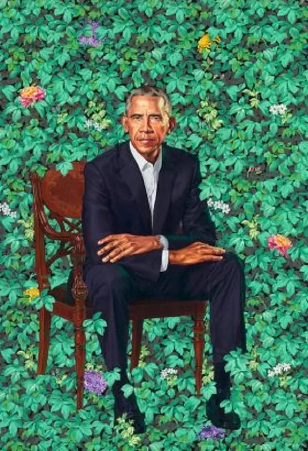 Picha rasmi ya Obama yazinduliwa, imechorwa na raia wa Nigeria Kehinde Wiley