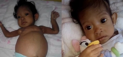 Sick baby Athena needs your help for her liver transplant