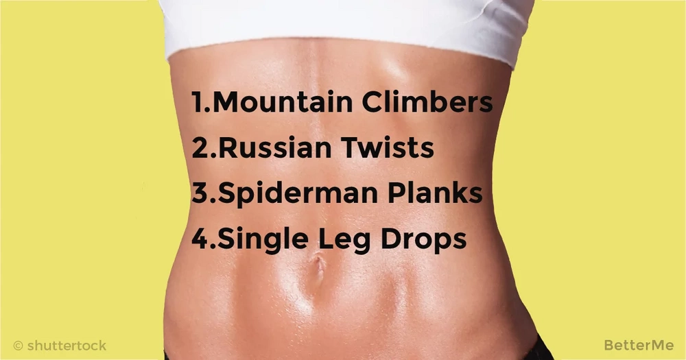 Effective moves and foods for 6-pack abs