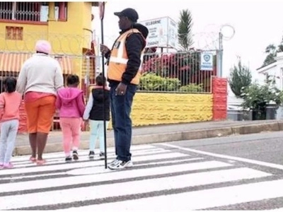 School owner paints pedestrian crossing after local council ignored plea for speed bumps