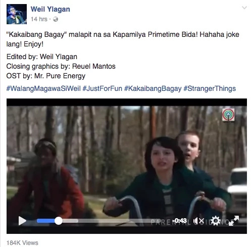 'Stranger Things' get Filipino treatment in fan-made video