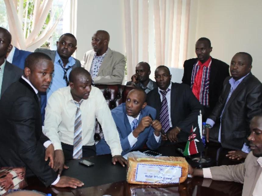 CORD politicians warned against interrupting Uhuru Kenyatta on Tuesday