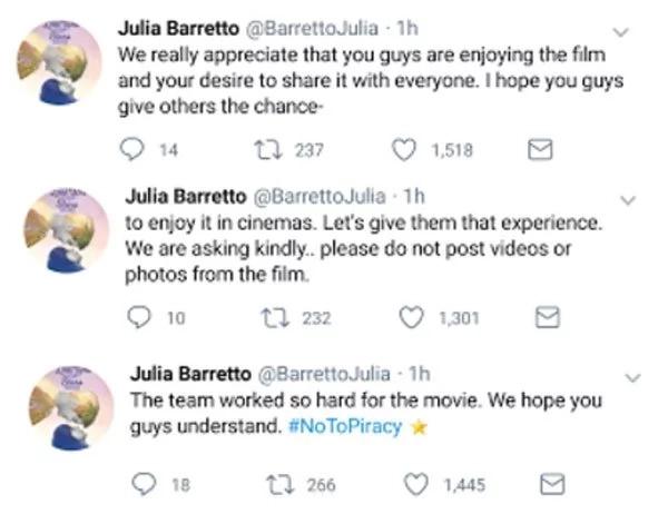 Julia Barretto and Joshua Garcia ask fans to watch movie in cinemas