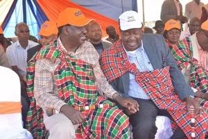 Raila and Mudavadi finally make the much-awaited announcement