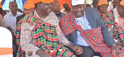 After Tharaka Nithi residents demonstrated against DP William Ruto, this is what Raila is doing for them