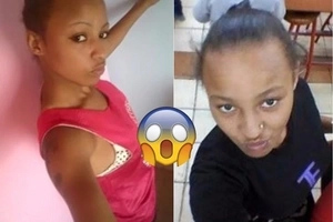 Another young, ridiculously beautiful female thug from Dandora, Nairobi, dares police to kill her (photos)