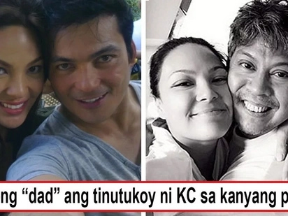 Masunuring anak pala siya! KC Concepcion finds wisdom behind dad's advice to - 'hit the ground running,' but which dad?