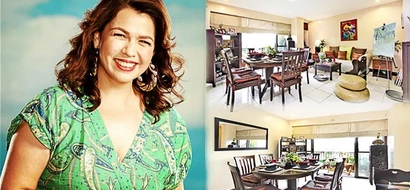 Masarap umuwi sa ganito ka relaxing na bahay! Lotlot de Leon's condo in QC, proof of her motherly simplicity and warmness