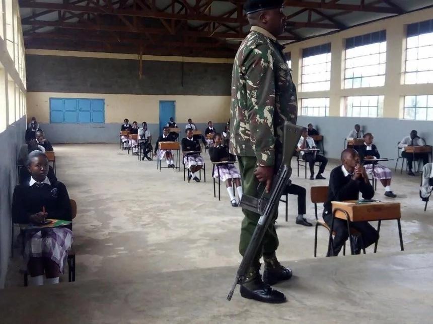 Watahiniwa wa KCSE wazua fujo baada ya kukatazwa 'kuiba mtihani'