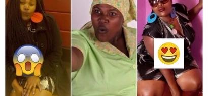 'Kijakazi' kutoka kipindi cha Auntie Boss apendeza zaidi nje ya kamera