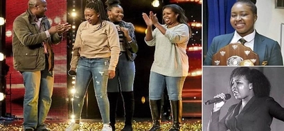 Teen whose parents are originally from Kenya DAZZLES Britain's Got Talent show (photos, video)