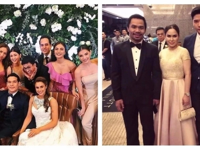 Star-studded ang kasal! Here are the celebrities who attended Max Collins and Pancho Magno's epic wedding