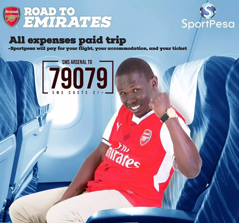 Sportpesa to fly Kenyans to London