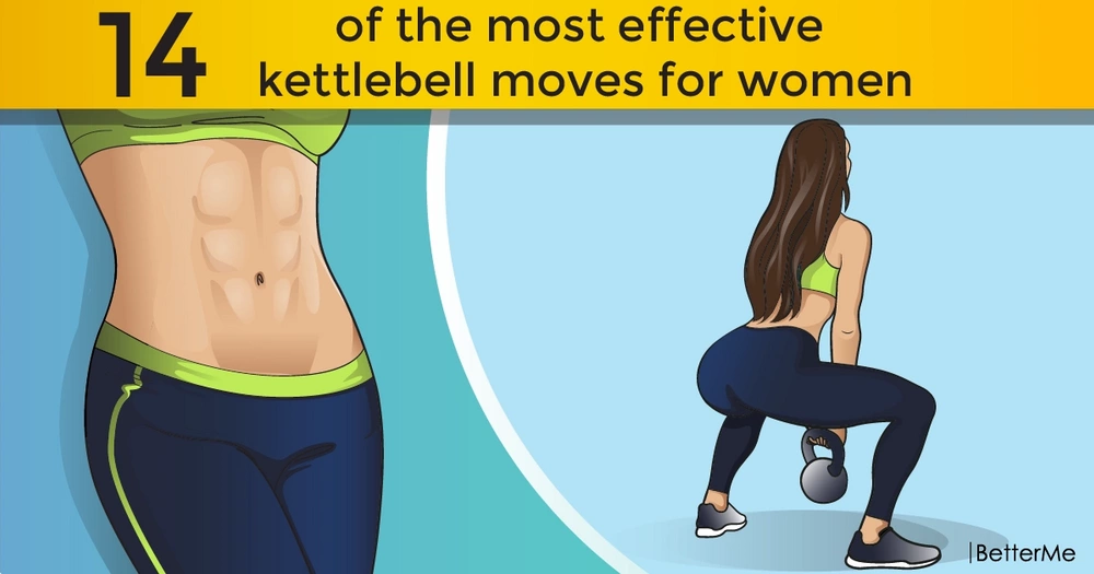 14 of the most effective kettlebell moves for women