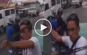 VIDEO: Another road rage incident in Batangas goes viral