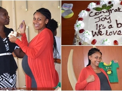 12 lovely photos from former KTN news anchor Joy Doreen's baby shower which will warm your heart