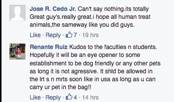 Everyone loves stray dog 'Enzo' with school ID in QC college