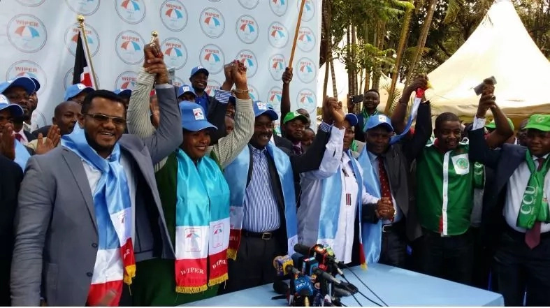 Wiper party issues a surprise statement after Wiper named Raila as flag-bearer
