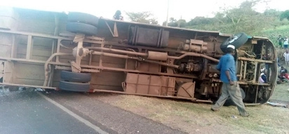 At least 5 people feared dead following yet another grisly road accident involving a matatu