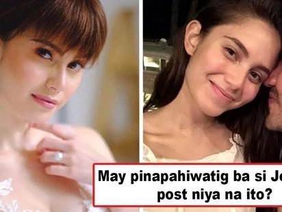 Atat na atat nang magpakasal? Jessy Mendiola's photo intrigues netizens where she wears a wedding gown and a diamond-studded ring