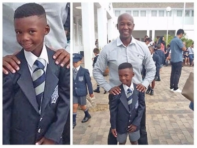 """""""Fight for me!"""" Pupil, 7, told his dad after receiving scathing warning letter over his haircut"""