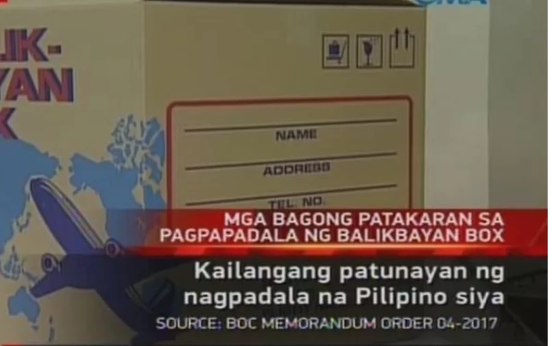 Bureau of Customs to Start Implementing Stricter Policies on Sending and Receiving Balikbayan Boxes