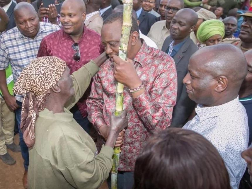 Uhuru Kenyatta's most humble moments