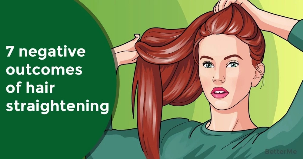 7 negative outcomes of hair straightening