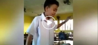 This Pinoy student did a cover of an Ariana Grande hit...when he opened his mouth everyone was shocked; here's why!