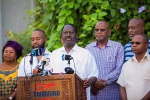 Raila Odinga tears Uhuru Kenyatta and his relatives to shreds