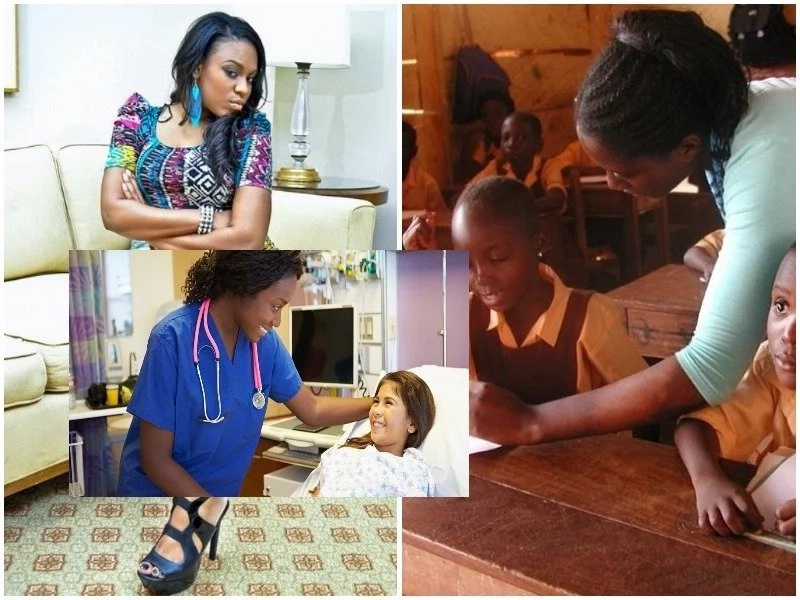 Revealed! See why women in these 5 professions make great WIFE materials (photos)