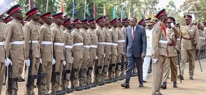 Uhuru awapongeza maafisa wa polisi kwa ujuzi waliouonyesha kazini katika msimu wa uchaguzi